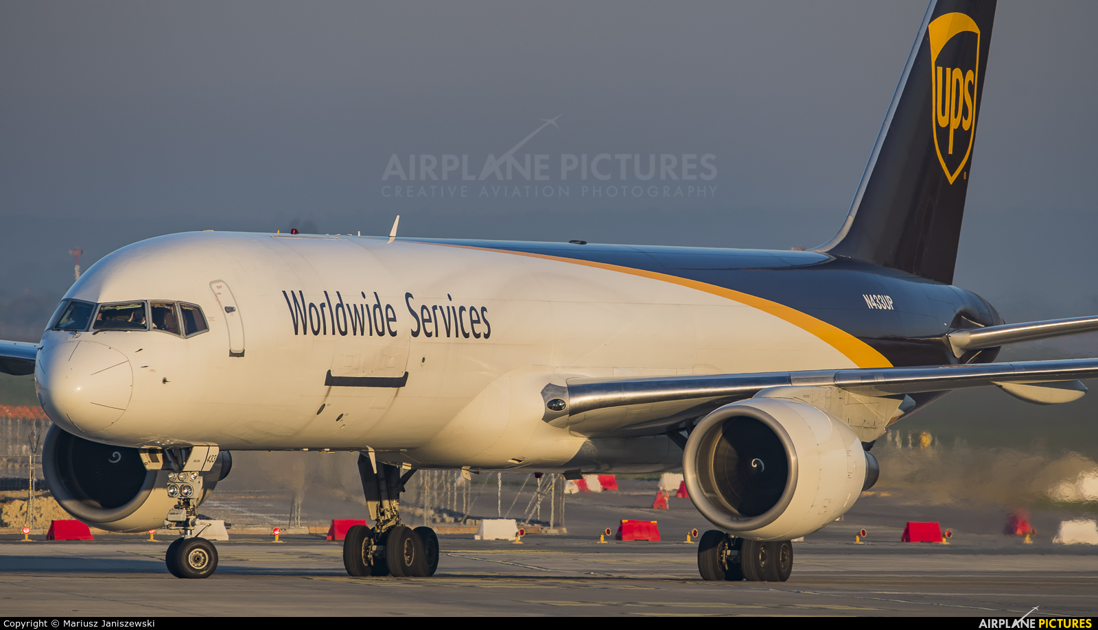 UPS - United Parcel Service N433UP aircraft at Katowice - Pyrzowice