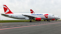 OK-HEU - CSA - Czech Airlines Airbus A320 aircraft