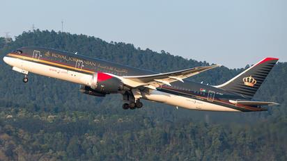 JY-BAF - Royal Jordanian Boeing 787-8 Dreamliner