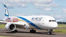 El Al Boeing 787 operates special cargo flights to Amsterdam title=