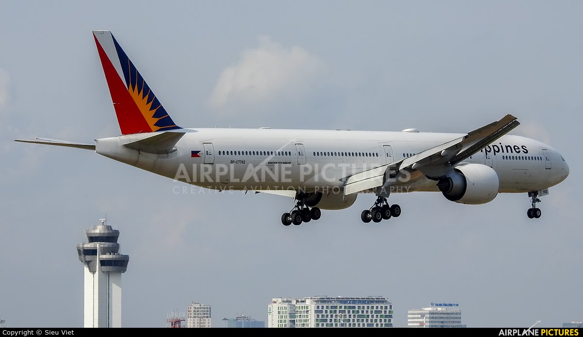 Philippines Airlines RP-C7782 aircraft at Ho Chi Minh City - Tan Son Nhat Intl