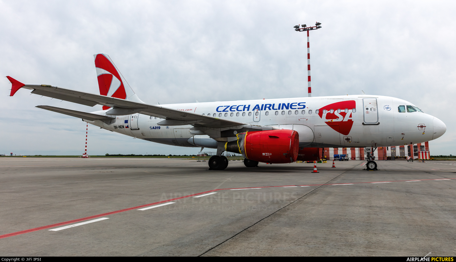 CSA - Czech Airlines OK-NEM aircraft at Prague - Václav Havel
