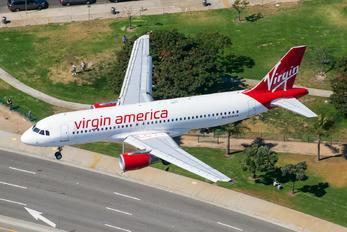 N836VA - Virgin America Airbus A320