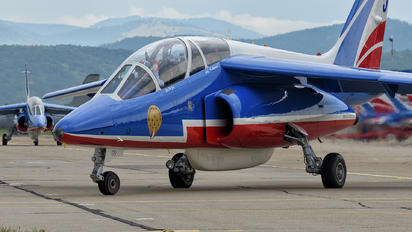 "F-UGFE - France - Air Force ""Patrouille de France"" Dassault - Dornier Alpha Jet E"