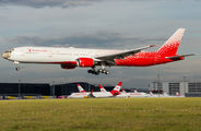 Rossiya B773 in special painting visited Vienna title=