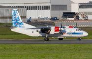 Rare visit of RAF Avia An26 to Paris Le Bourget title=