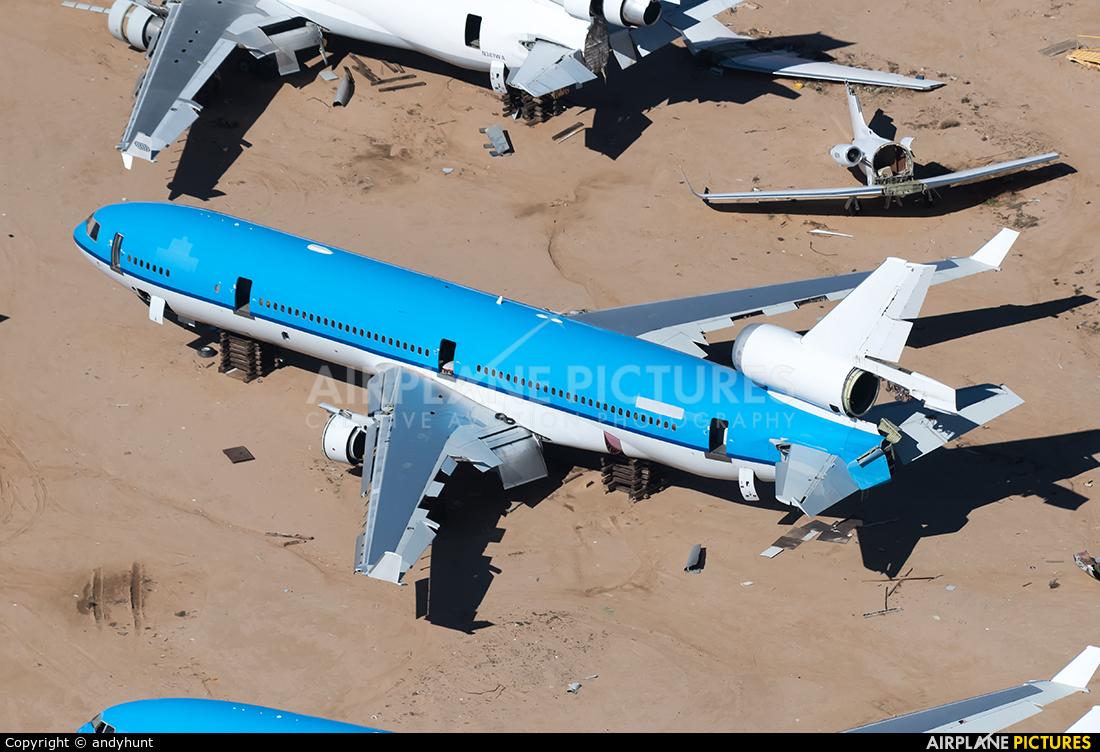 KLM PH-KCE aircraft at Mojave