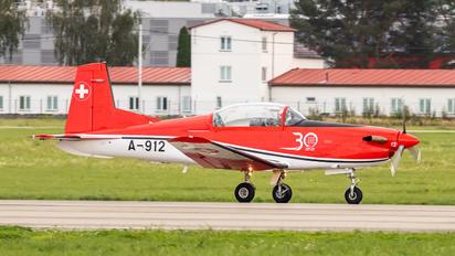 A-912 - Switzerland - Air Force: PC-7 Team Pilatus PC-7 I & II