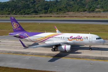 HS-TXU - Thai Smile Airbus A320