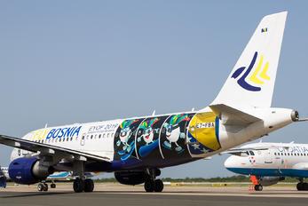 E7-FBA - Fly Bosnia Airbus A319