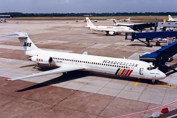 OY-KHI - SAS - Scandinavian Airlines McDonnell Douglas MD-87