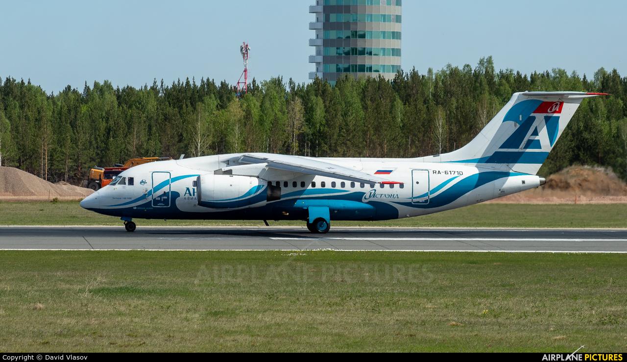 Angara Airlines RA-61710 aircraft at Krasnoyarsk - Yemelyanovo