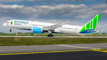 Bamboo Boeing 787 visited Prague title=