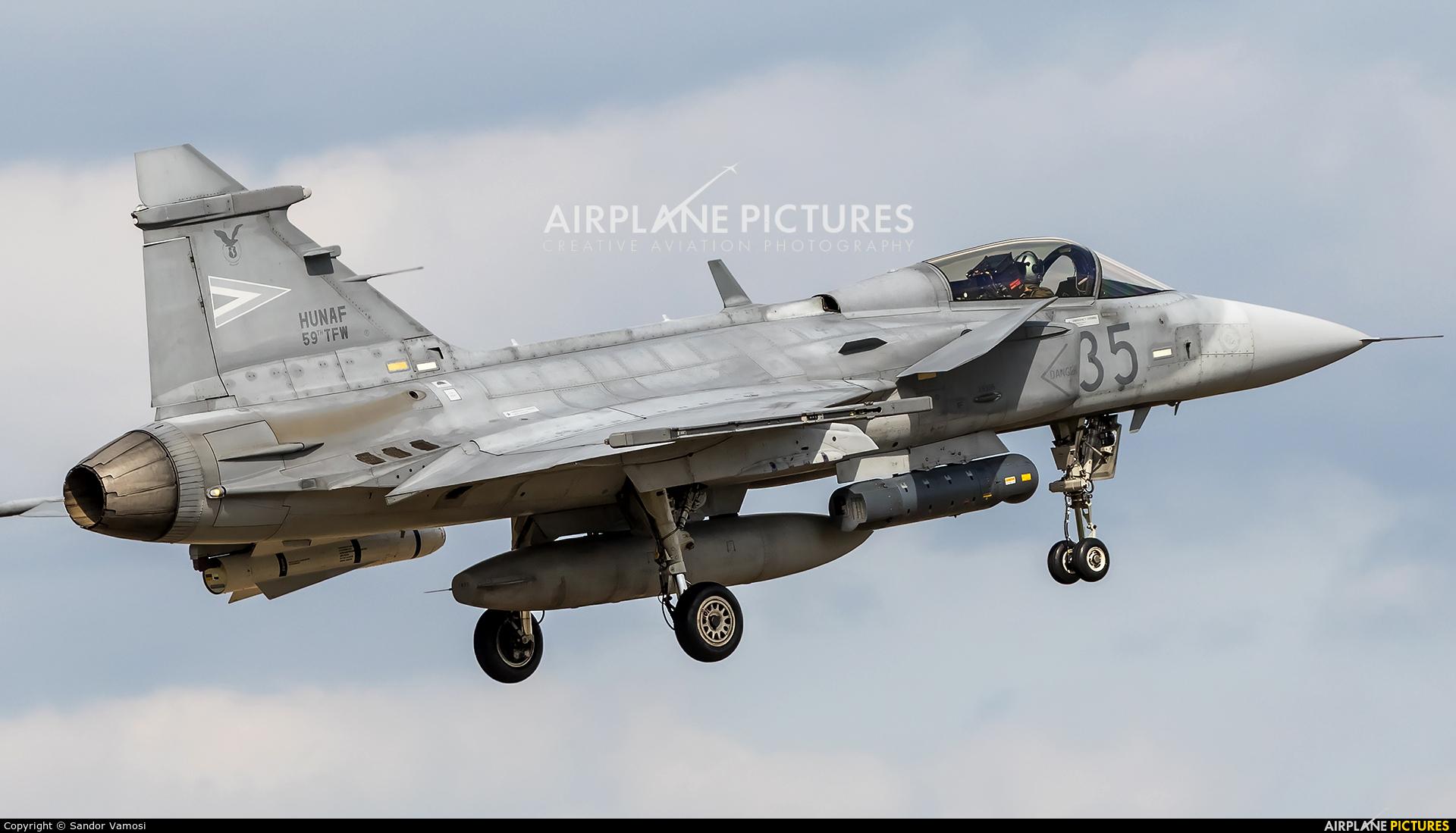 Hungary - Air Force 35 aircraft at Kecskemét