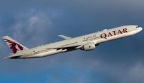 A7-BAW - Qatar Airways Boeing 777-300ER aircraft