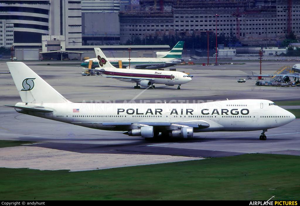 Polar Air Cargo N630SJ aircraft at HKG - Kai Tak Intl CLOSED