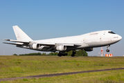 Rare visit of Geo-Sky Boeing 747-200F to Liège title=