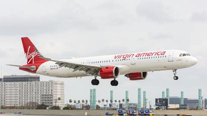 N921VA - Virgin America Airbus A321 NEO
