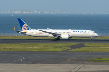 N27958 - United Airlines Boeing 787-9 Dreamliner