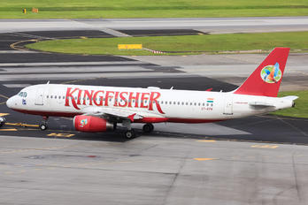 VT-KFK - Kingfisher Airlines Airbus A320