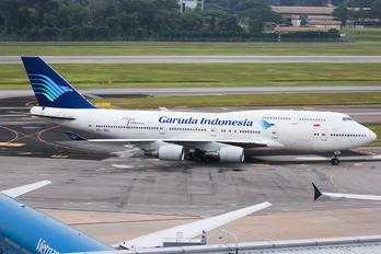 PK-GSH - Garuda Indonesia Boeing 747-400