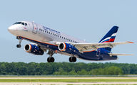 RA-89057 - Aeroflot Sukhoi Superjet 100 aircraft