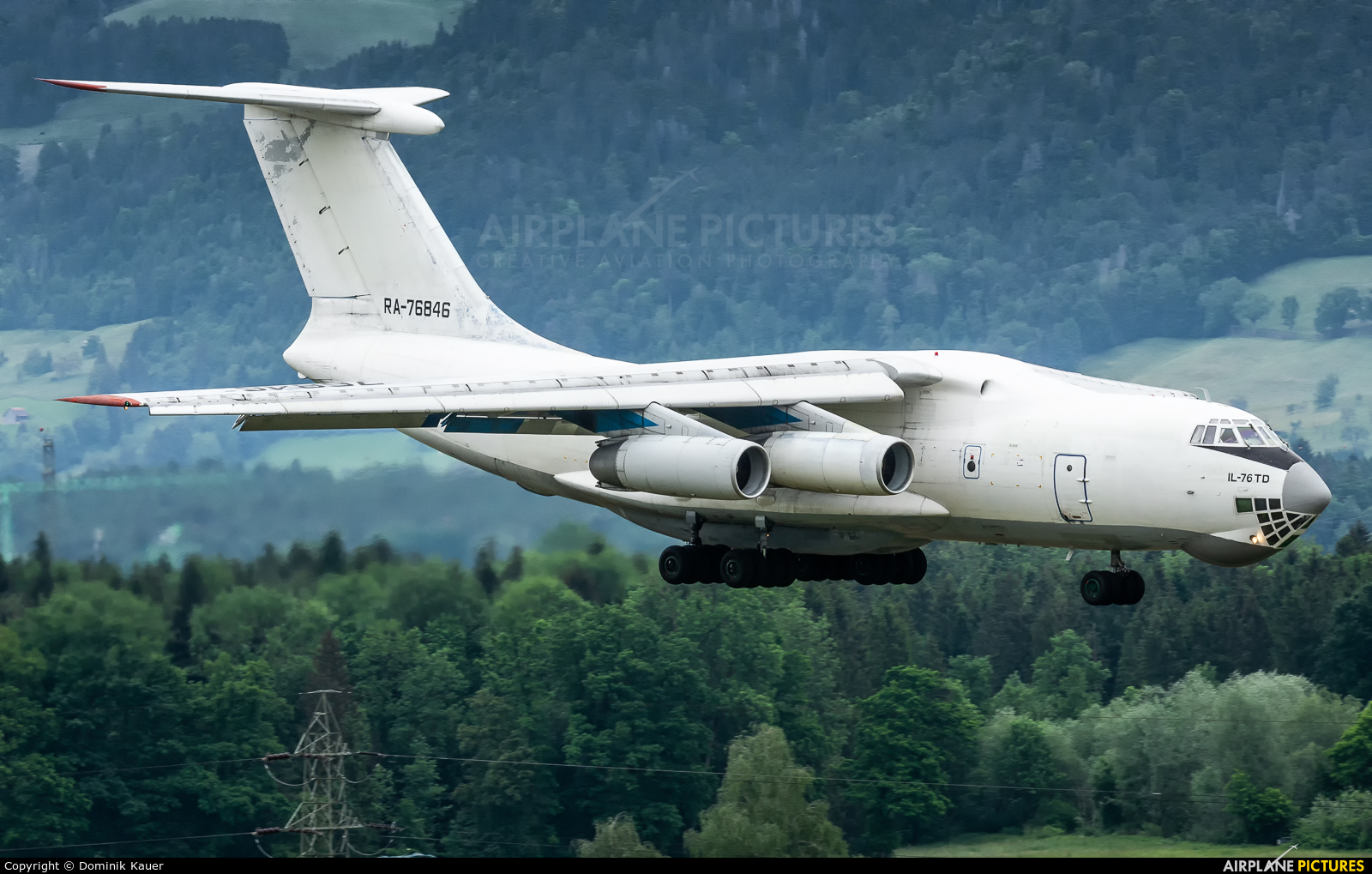 Aviacon Zitotrans RA-76846 aircraft at Emmen