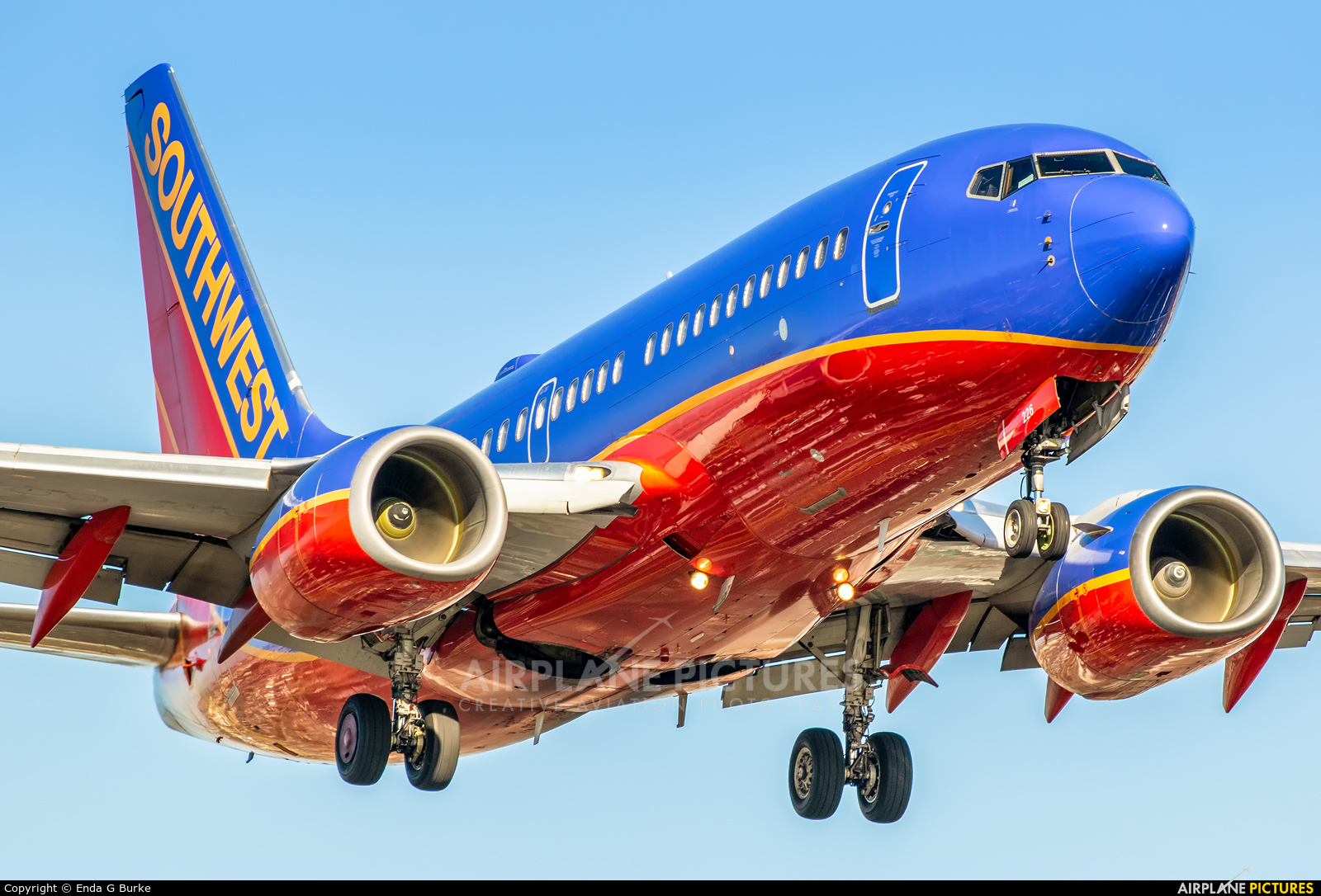 Southwest Airlines N226WN aircraft at Los Angeles Intl