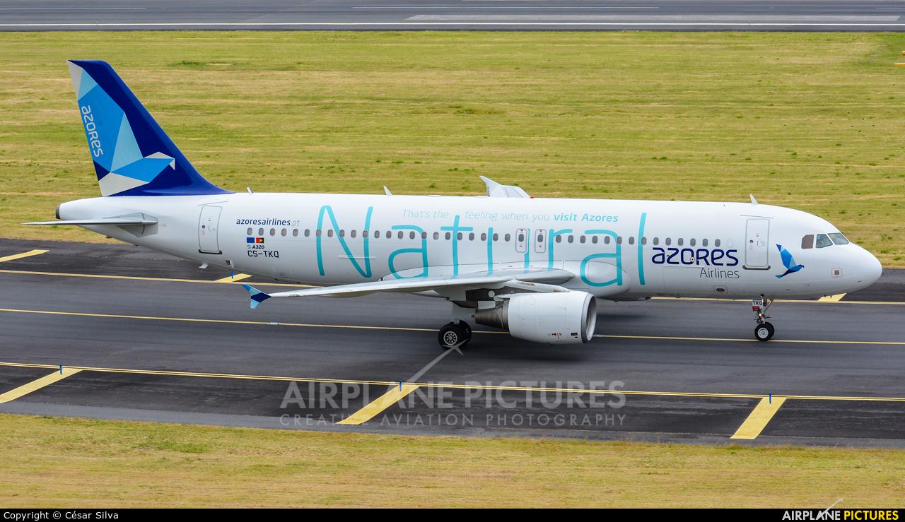Azores Airlines CS-TKQ aircraft at Azores - Ponta Delgada