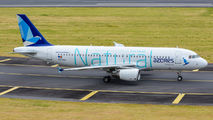 """Azores Airlines A320 wears """"Natural"""" livery title="""