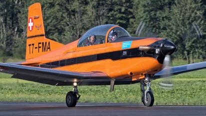 T7-FMA - FFA Museum Pilatus PC-7 I & II