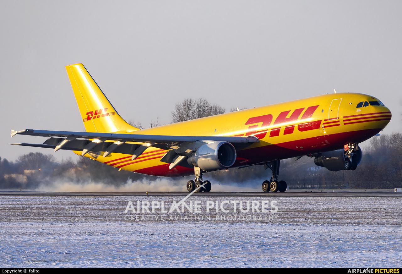 ASL Airlines EI-DGU aircraft at Budapest Ferenc Liszt International Airport