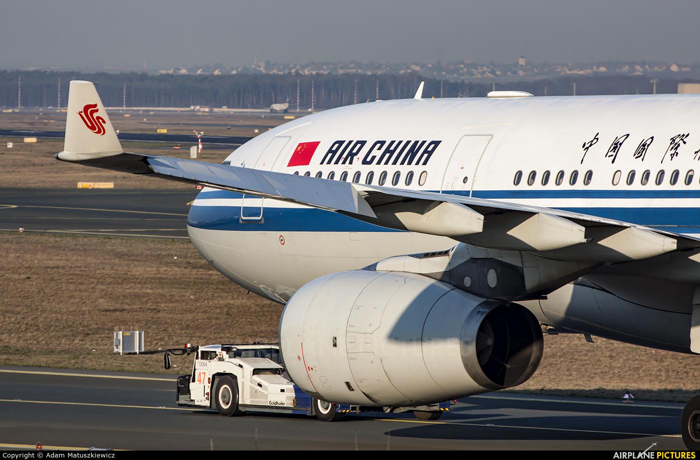 Air China B-6092 aircraft at Frankfurt