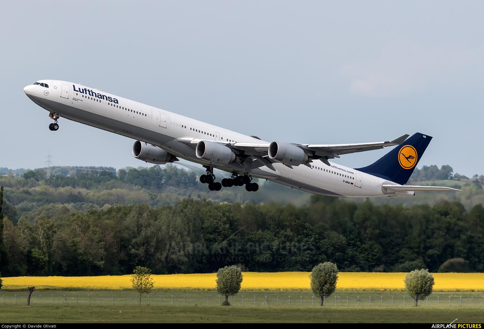 Lufthansa D-AIHA aircraft at Munich