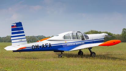 OM-AFA - Aeroklub Bratislava Orličan L-40 Meta Sokol
