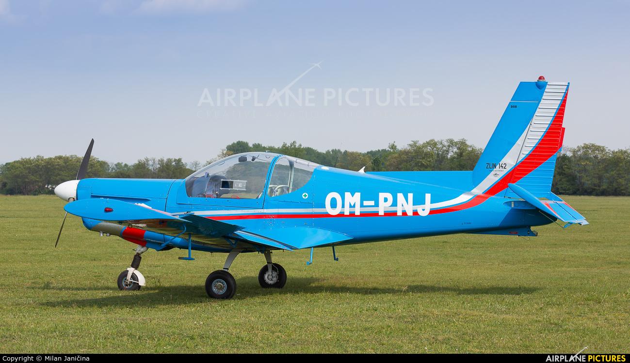 Private OM-PNJ aircraft at Trnava- Boleráz