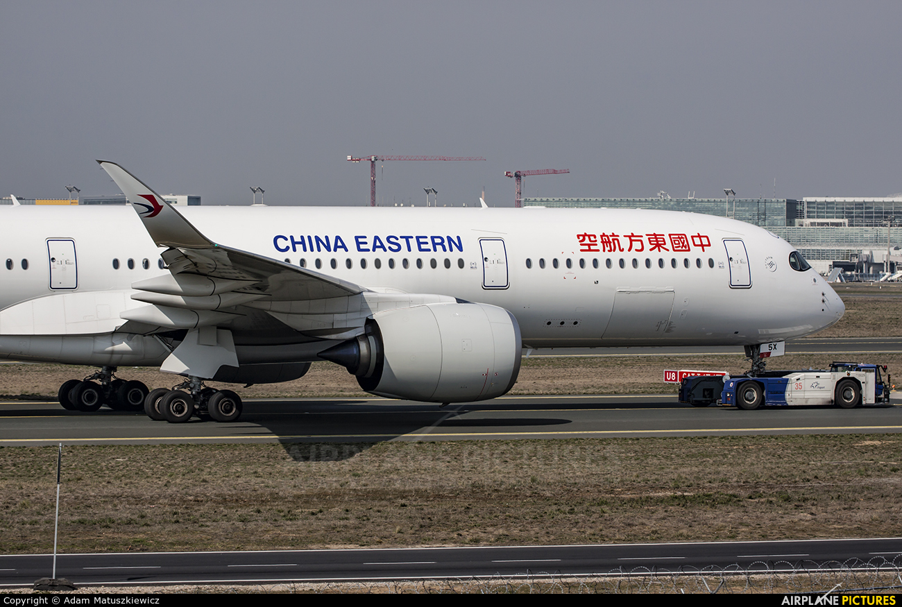 China Eastern Airlines B-305X aircraft at Frankfurt