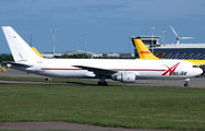 ABX Boeing 767F visited East Midlands title=