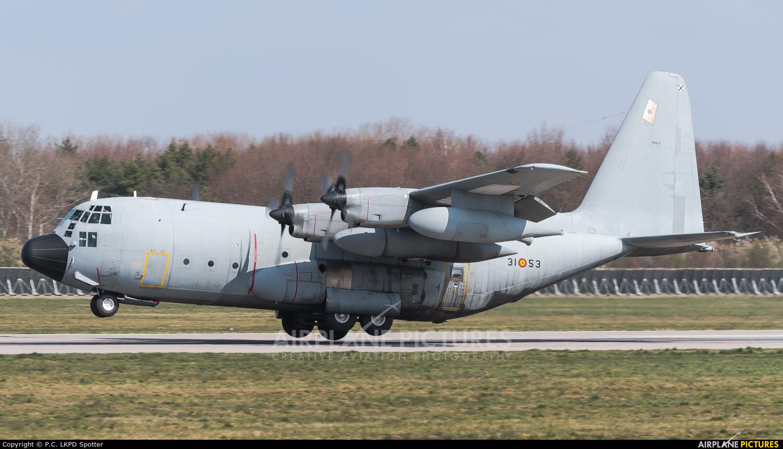Spain - Air Force TK.10-11 aircraft at Pardubice