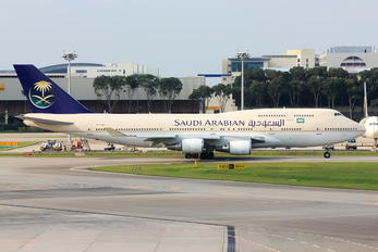 TF-AAC - Saudi Arabian Airlines Boeing 747-400ER