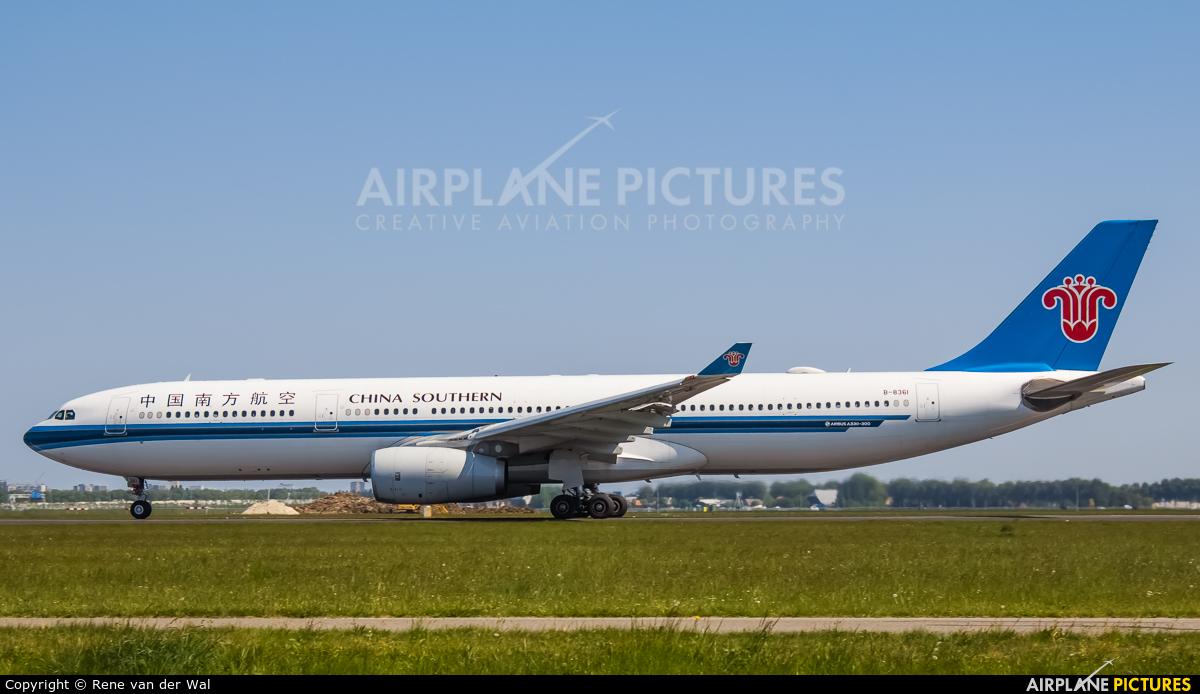 China Southern Airlines B-8361 aircraft at Amsterdam - Schiphol
