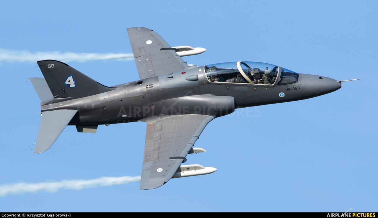 Finland - Air Force: Midnight Hawks HW-350 aircraft at Ostrava Mošnov