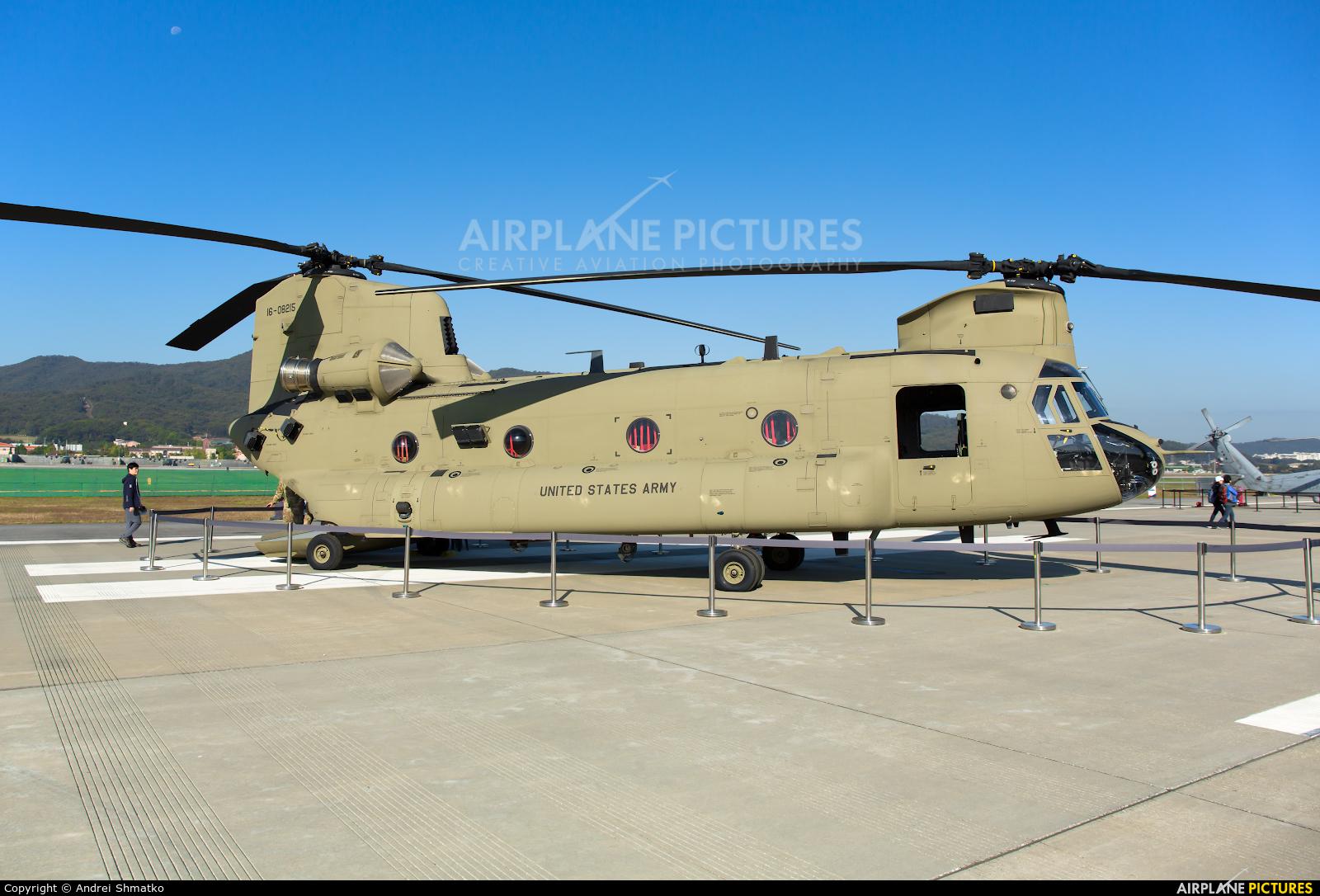 USA - Army 16-08215 aircraft at Seongnam AB