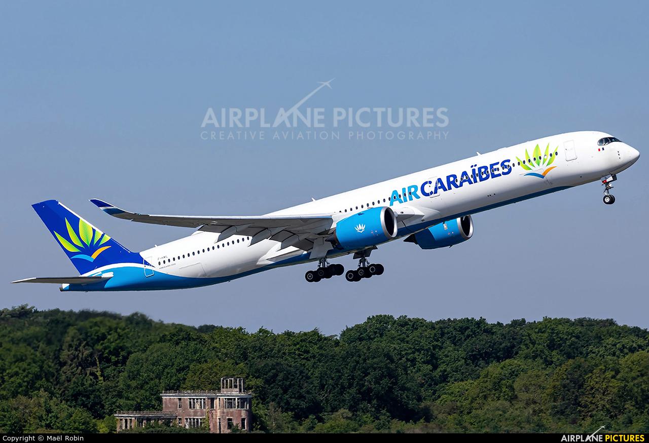 Air Caraibes F-HMIL aircraft at Nantes - Atlantique