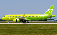 VP-BTB - S7 Airlines Airbus A320 NEO aircraft