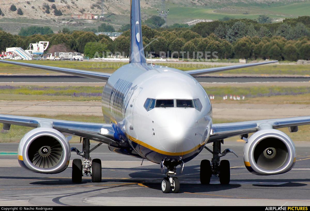 Ryanair EI-GJE aircraft at Madrid - Barajas