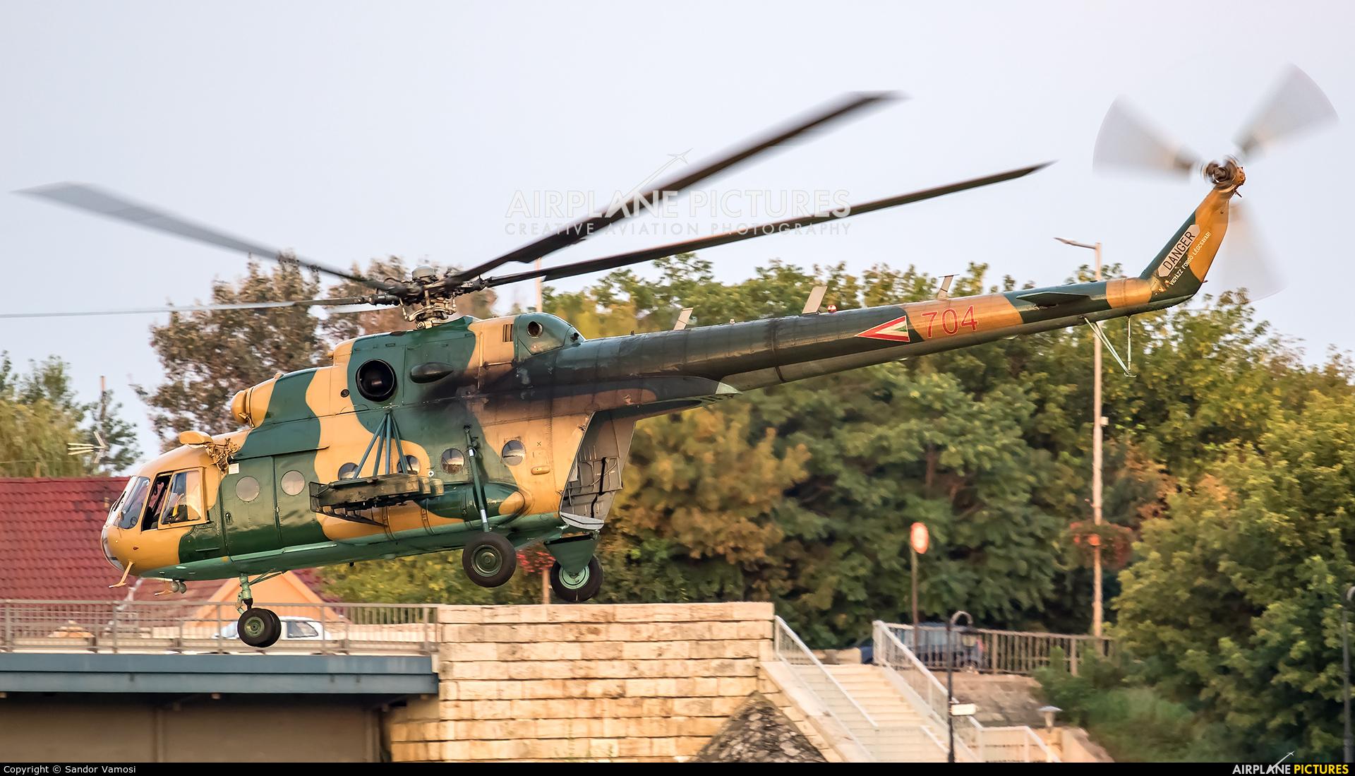 Hungary - Air Force 704 aircraft at Off Airport - Hungary