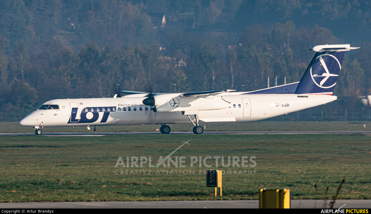LOT - Polish Airlines SP-EQB aircraft at Kraków - John Paul II Intl