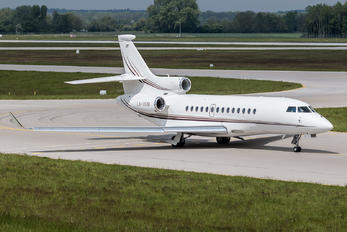 LX-USM - Global Jet Luxembourg Dassault Falcon 7X