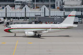 A40-AJ - Oman - Royal Flight Airbus A319 CJ